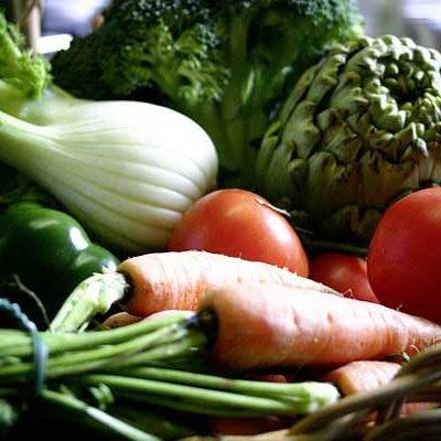 panier de fruits et legumes bio sur biot