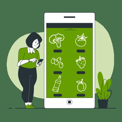 illustration choisir les produits bio et locaux