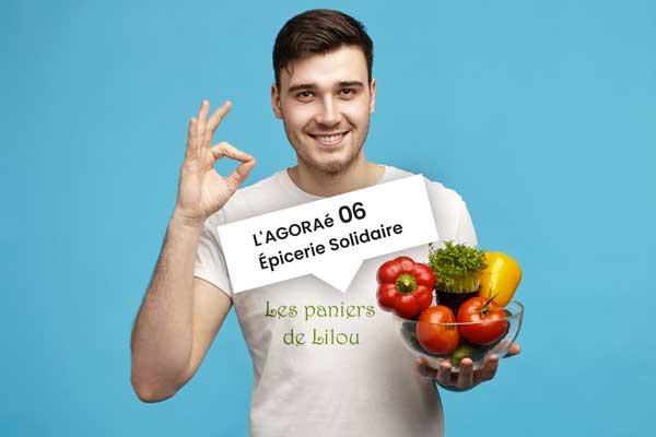 Paniers de fruits et légumes bio pour les étudiants en situation précaire sur Nice et 06